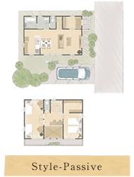 Style-Passive:太陽の恵み、風の心地よさ、自然の力をダイレクトに活かす効率的な家