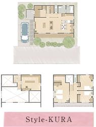 Style-KURA:段差が生み出す楽しさと利便性、気づくとスキップしている家